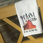 Farm Living Kitchen Towel