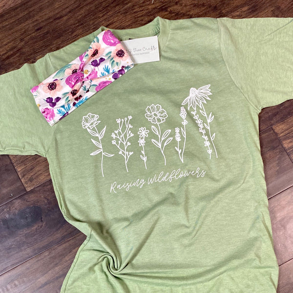 Raising Wildflowers Tee (Color Options)