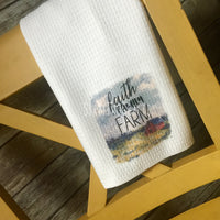 Faith Farm Family Kitchen Towel