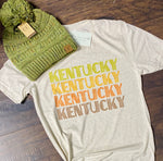 Kentucky Multi Fall Tee