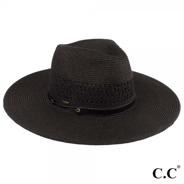 Panama Hat-Black
