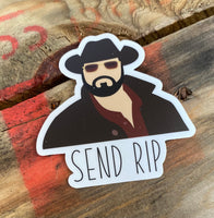 Send RIP Waterproof Decal/Sticker