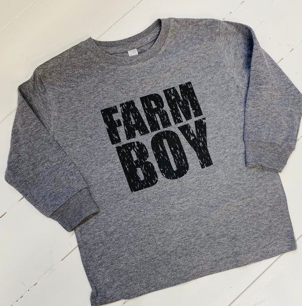 Farm Boy Long Sleeve Tee