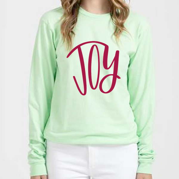 JOY Long Sleeve Tee