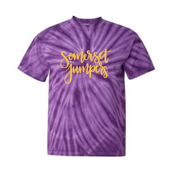 Somerset Hand Lettered Tie Dye Tee (Youth & Adult)