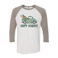 Vintage Tree Truck - (Apparel Options)