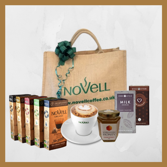 "Gift Hampers  ""No Waste"" Coffee choice between Beans, Ground and Capsules"