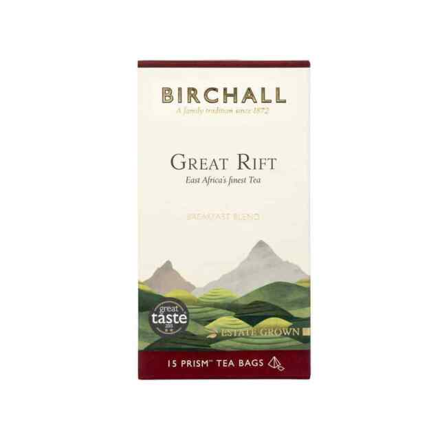 Great Rift Tea -  15 prism bags-   Rainforest alliance