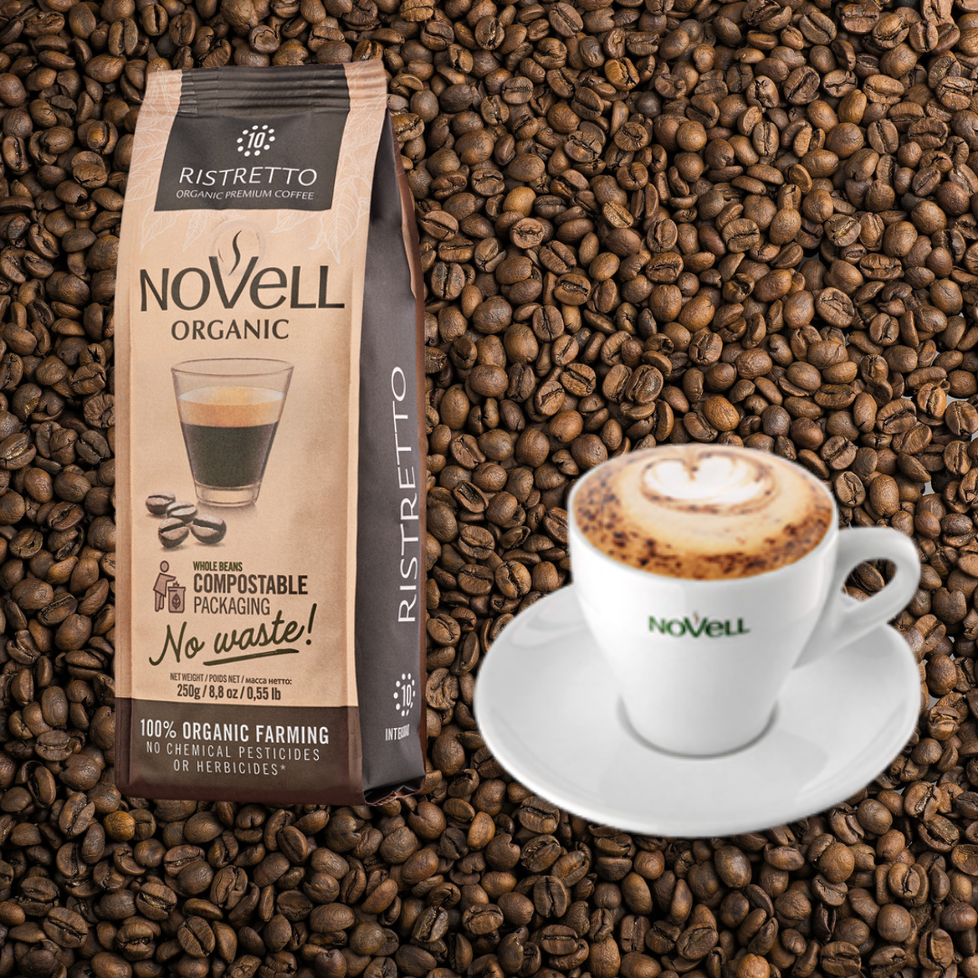 Your choice of Coffee and Novell 8oz cup and saucer