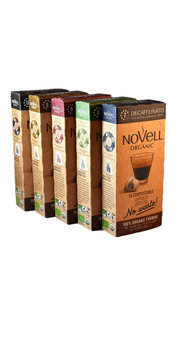 INTRODUCE YOURSELF TO NOVELL  -One of each blend-NO WASTE