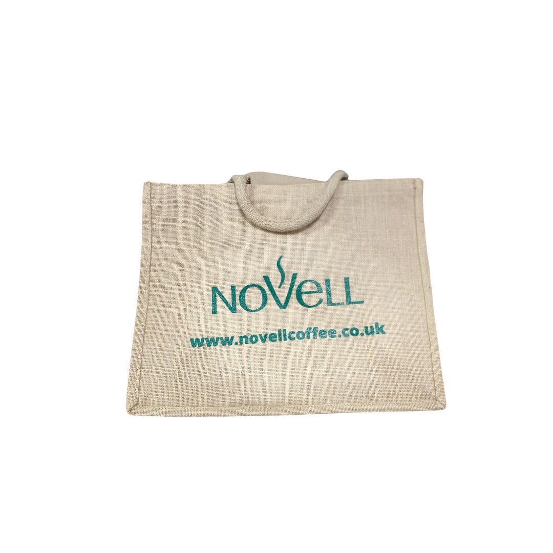 Large Jute shopper bag
