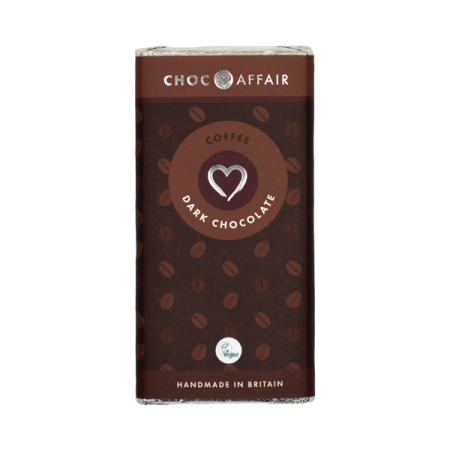 Dark Chocolate Coffee Infused Chocolate Bar 90g