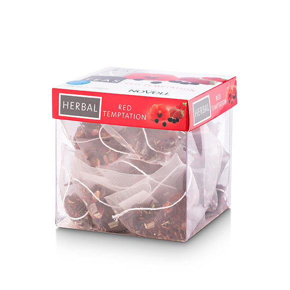 Red Temptation-20 Infusion Pyramid Tea Bags(no box-sealed bag packaging)