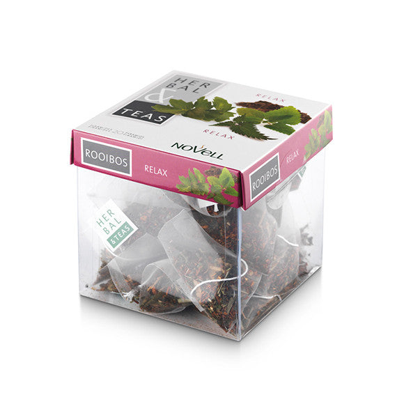 Relax- 20 Infusion Pyramid Tea Bags (No box - sealed bag packaging)