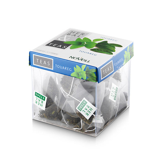 Touareg- Mint and Green Tea - 20 Infusion Pyramid Tea Bags (no box sealed packaging)