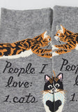 People I Love: 1. Cats Crew Socks