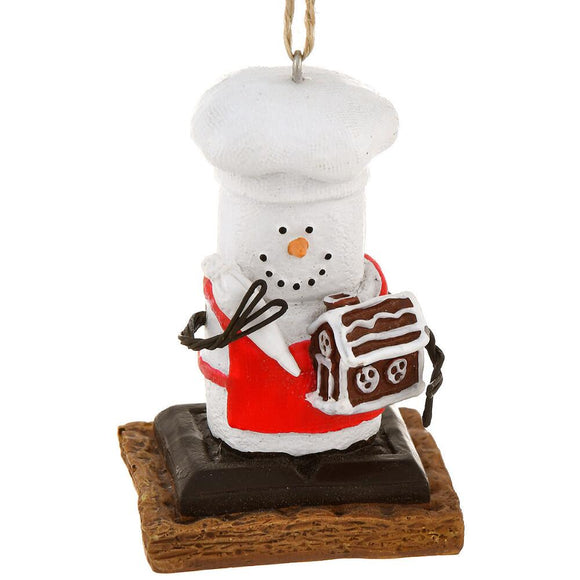 Ornament - S'more Baker
