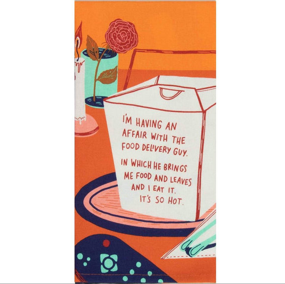 Tea Towel - I'm Having An Affair