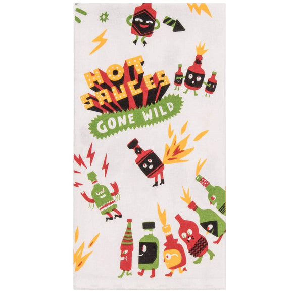 Tea Towel - Hot Sauces Gone Wild