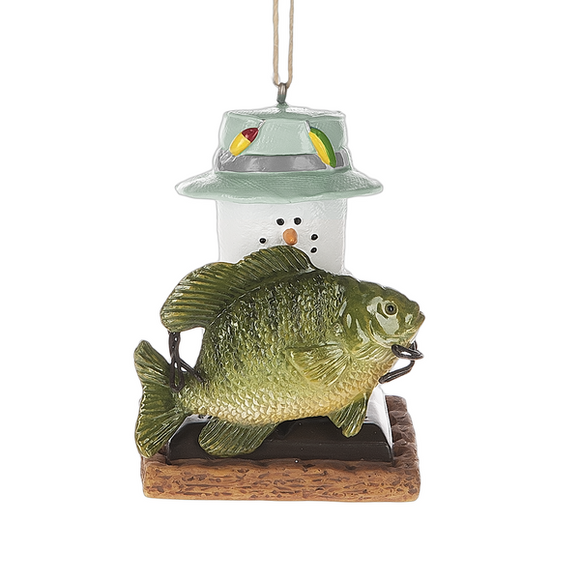 Ornament - S'more Fishing