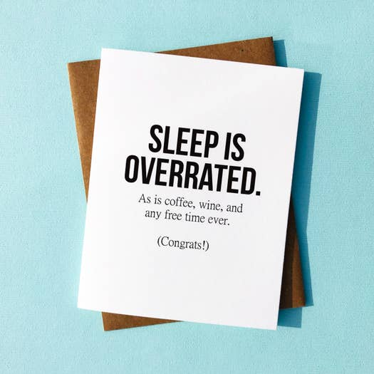 Card - Sleep Is Overrated
