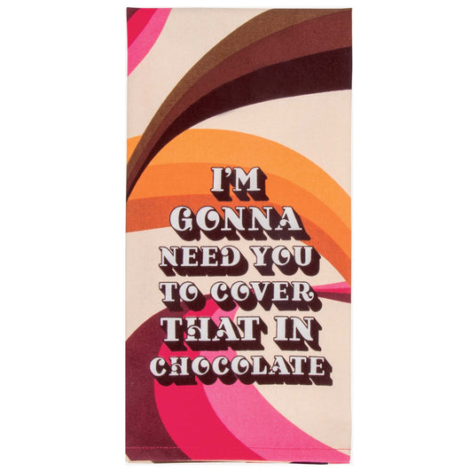 Tea Towel - Chocolate