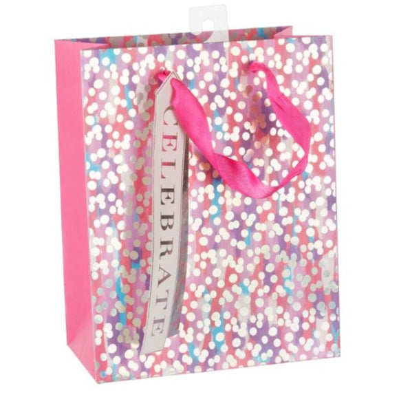 Medium Gift Bag - Celebrate Confetti