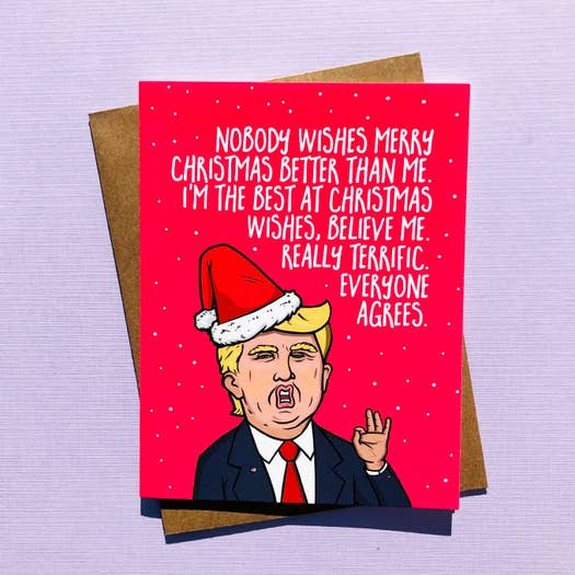 Card - Trump Best At Christmas