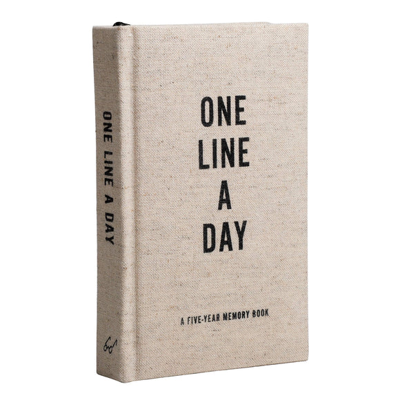 One Line A Day - A Five Year Memory Book
