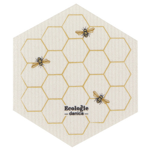 Swedish Dishcloth - Bee Honeycomb