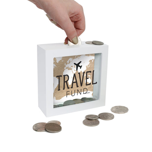Mini Money Box - Travel Fund