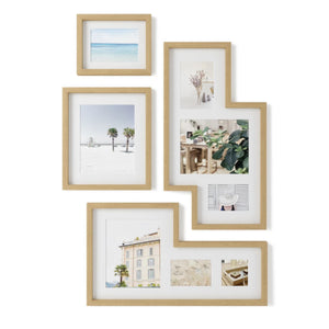 Mingle Gallery Frame Set - Natural