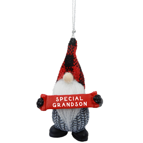 Ornament - Gnome Grandson