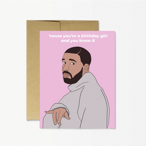 Card - Drake - Birthday