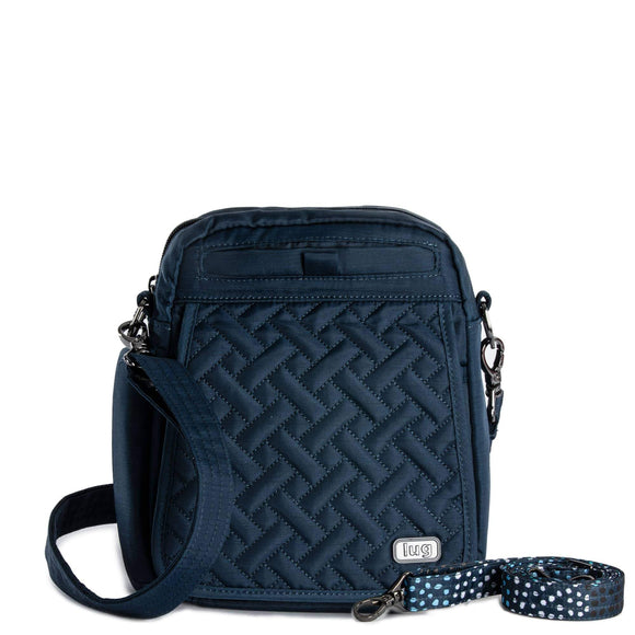 Lug - Flapper Cross-Body Bag - Brushed Navy