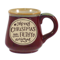 Mug - Merry Christmas Ya Filthy Animal