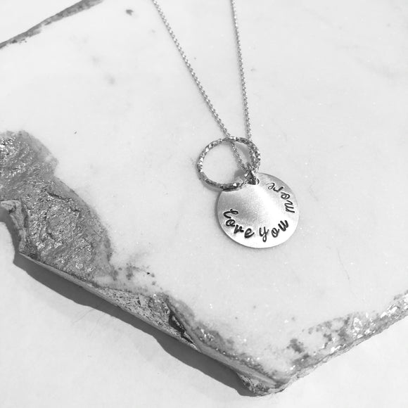 Necklace - Stardust Circle - Love You More