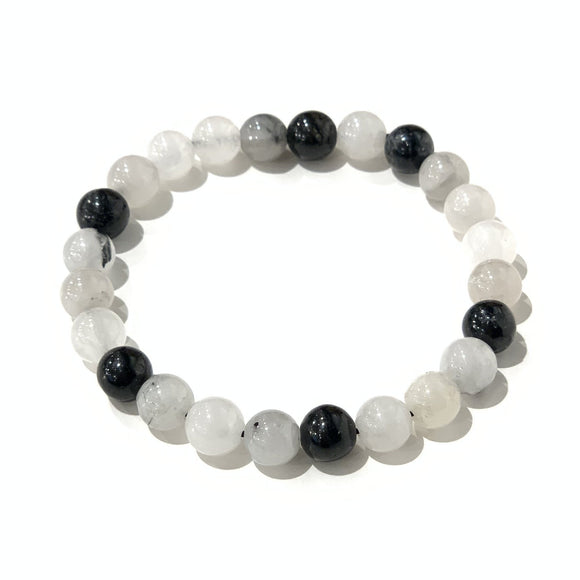 Gemstone Bracelet - Rutilated Quartz