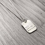 Necklace - Square - Day Dream Believer