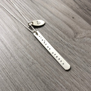 Necklace - Vertical - You're My Person