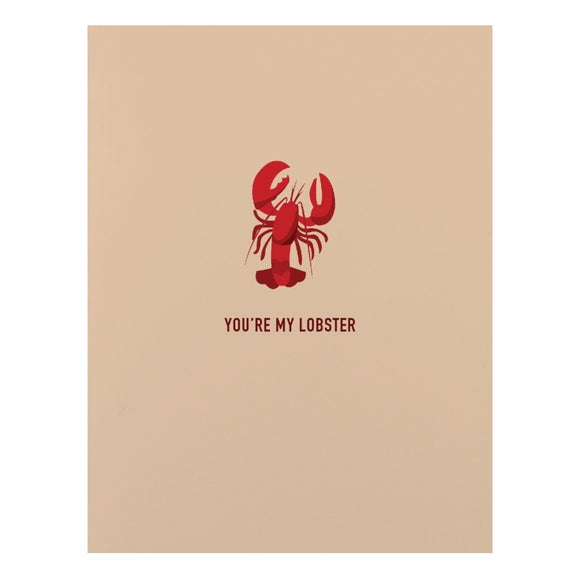 Card - You're My Lobster