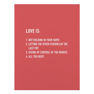 Card - Love Is...