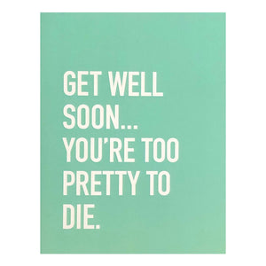 Card - Get Well Soon...