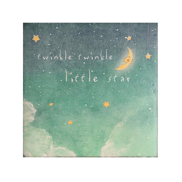 Large Art Block - Twinkle Twinkle