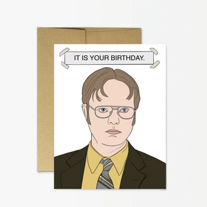 Card - The Office - Dwight Birthday