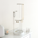 Tesora Jewelry Stand - Marble