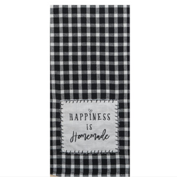 Tea Towel - Happiness Is Homemade