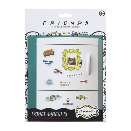 Magnets - Friends - Set of 25
