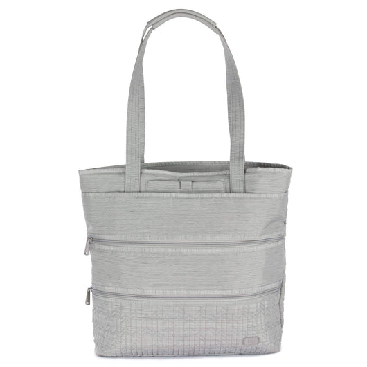 Lug - Taxi Tote Bag - Brushed Silver