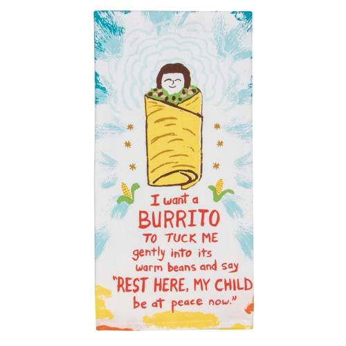 Tea Towel - I Want A Burrito